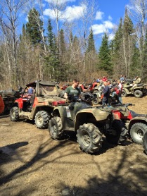 ATV Ride in Kearney Ontario