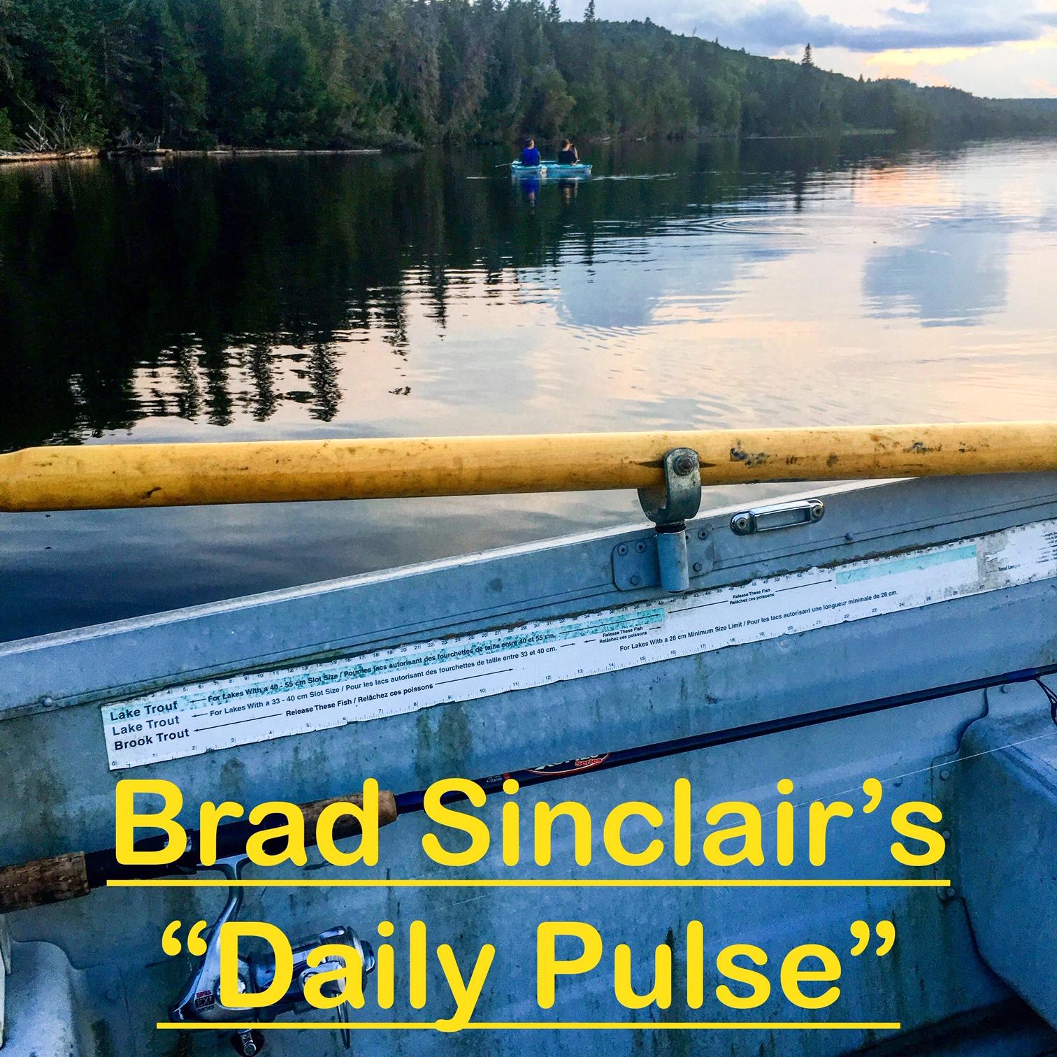 Last Weeks Wrap in Brad Sinclair's Walk and Talk